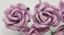 PALE LILAC GRANDIFLORA (3.5 cm) Mulberry Paper Roses